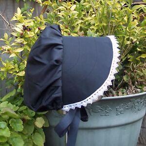 """Regency/Victorian Style Bonnet """"Jane Austen"""" HANDMADE"""