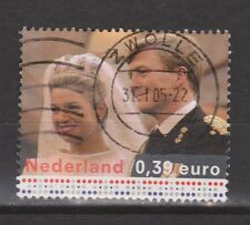 NVPH Netherlands Nederland nr 2275 used Marriage King Willem Maxima 2004 Royalty