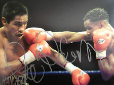 STEVE ROBINSON - WELSH WORLD CHAMP  - SIGNED COLOUR ACTION PHOTOGRAPH