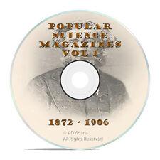 Classic Popular Science Magazine, Volume 1 DVD, 1872-1906, 411 issues, V01