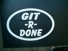 GIT R DONE DECAL