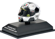 Minichamps 1/8 Valentino Rossi AGV Helmet MotoGP Barcelona 2008 398080086