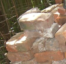 Bricks vintage salvaged from mansions and yards 50 clay bricks old style