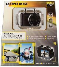 New Sharper Image Full HD 1080p Action Go Cam Pro Video 12 MP Digital Camera