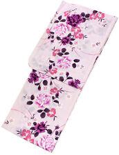 Women's Cotton Yukata Japanese Summer Kimono Light Pink Rose Tall Own Brand
