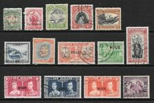 1911 King Edward VII to 1950  KGVI Collection of 14 stamps mainly Used NIEU