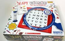 I Spy Word Scramble Board Game - New