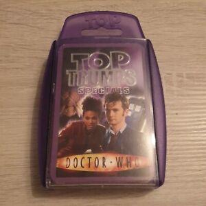 Top Trumps Specials Doctor Who