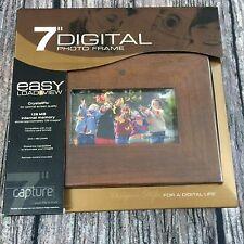 "DIGITAL PHOTO FRAME 7"" DISPLAY CRYSTALPIX 128 MB INTERNAL MEMORY 234 X 480 PIXEL"