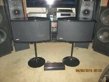 SALE! BOSE 901 Series VI Limited Ed Concerto Piano Black Speakers with EQ&Stands