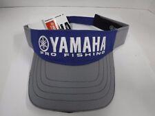 New Genuine YAMAHA PRO FISHING VISOR    GRAY/BLUE