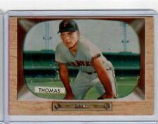 1955 Bowman, Frank Thomas #58, VG+, Pittsburgh Pirates