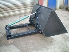 More details for hydraulic forklift bucket - hydraulic 4ft