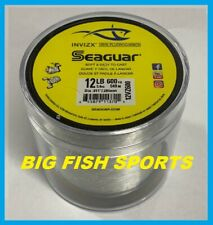 SEAGUAR INVIZX 100% Fluorocarbon Line 12lb/600yd 12VZ600 FREE USA SHIP! 12VZ600