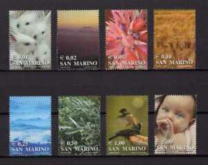 15005A) San Marino 2002 MNH New - Definitive 8v