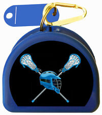 Mouth Guard Case for Lacrosse Players call Men's Lacrosse