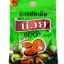 BUOY Dry Plum Amazing Candy Thai Toffee Fruit Real Pulp Freshening throat Yummy