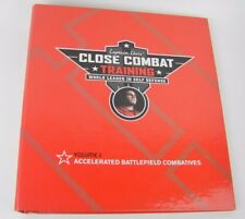 Captain Chris CLOSE COMBAT TRAINING Battlefield Combatives Binder 8 DVDs 2 Books
