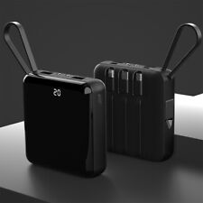 900000mAh Mini Power Bank Portable External Battery Backup Charger Fast Charging
