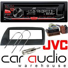 Ford KA 96-08 JVC Car Stereo CD MP3 Radio USB Aux-in Player RED Display BLACK