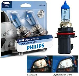 OpenBox Philips Crystal Vision Ultra 9007 HB5 65/55W Two Bulb Head Light Upgrade
