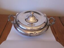 VICTOR SILVER COMPANY - Quadruple Plating - Covered Server - #2872