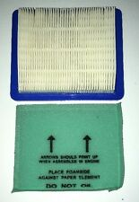 John Deere 14PZ 14SZ JS20 & JS30 Lawnmower Air Filter Set LG491588JD / LG493537S