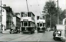 Cardiff Corporation Tramways Car 8 & 94 South Wales 1938 photograph