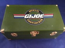 1991 GI Joe Footlocker With SEALED Trading Cards & COA Impel TCG Hasbro Official