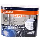 2x Original Osram Xenon Brenner Birne D2S Night Breaker Unlimited +70% Licht #36