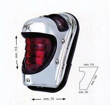 Fanale stop luce posteriore BEEHIVE cromato moto custom Harley bobber classic
