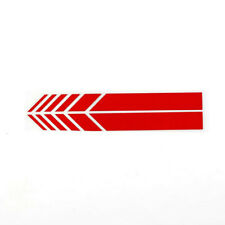 2 Pairs Stripe Sticker Car Racing Side Rear View Mirror Decal Decor Accessories