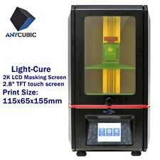 Anycubic SLA Photon 3D Resin Drucker 405nm UV Harz LED Licht-Heilung 115x65x155m