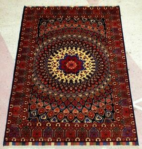 Stunning Floral Pattern Double Knotted Handmade Oriental Gumbad High Quality Rug