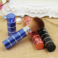 Einziehbare Blush Brush Foundation Puder Rouge Make-up Pinsel mit Kappe HOT Neu;