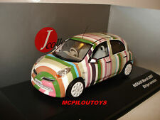 J-COLLECTION JC211 NISSAN MARCH ( MICRA ) STRIP VERSION 2007 au 1/43°
