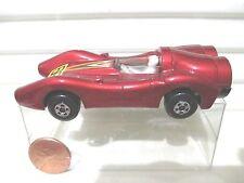 Lesney Matchbox MB69B 1973 Red Turbo Fury Car Black Base #69 Label Mint PVC Box