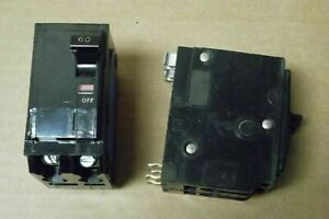 Square D QO260 2 Pole 60 Amp 240V Black Circuit Breaker