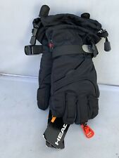 Head Junior Ski Glove Black/Black ( Medium Ages 7-10 )