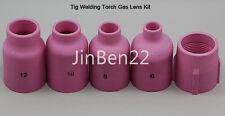 Large Diameter FIT TIG Welding Torch Gas Len Alumina Nozzle WP 17 18 26 Series