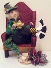 "*New* Cloth Art Doll (Paper) Pattern ""The Mad Hatter"" By Suzette Rugolo"