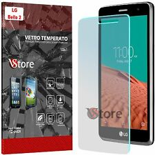 "Pellicola In Vetro Temperato Per Lg Bello 2 II Due X150 Salva Display LCD 5,0"""
