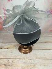 Large Ladies Fascinator Veil Hatinator Wedding Guest Race Day Ascot Hats RRP£45