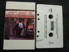 ELTON JOHN DON'T SHOOT ME I'M ONLY THE PIANO PLAYER ULTRA RARE CASSETTE TAPE!