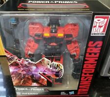 Transformers Power of the Primes Voyager INFERNO G1 COMBINER WAVE 3 NEW IN STOCK