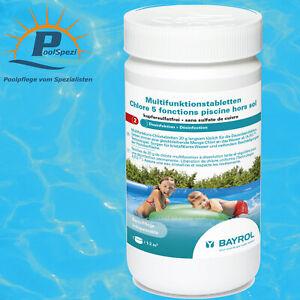 BAYROL Multifunktions-Chlortabletten 5 in 1 20 g für Quick-Up Pools POOLSPEZI