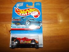 HOT WHEELS, 2000 FIRST EDITIONS, #11 OF 36, FERRARI 333 SP, RED, NOC