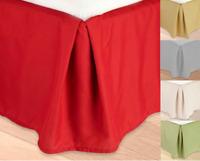 QUEEN REGULAR Microfiber Dust Ruffle Bed Skirt Bedding Bed Dressing Bedroom