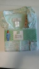 Karen Neuburger Pajamas set Soft Knit 3/4 Sleeve & Long Pants Nwt Free Shipping