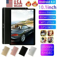 Ten Core 10.1 Inch HD Game Tablet Computer Android 8.0 PC GPS Wifi Dual Camera
